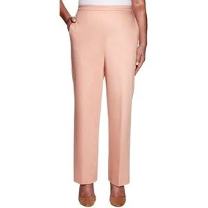 Alfred Dunner Classic Fit Trousers Medium Length